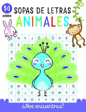 SOPAS DE LETRAS: ANIMALES (PARA NIÑOS)