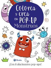 COLOREA Y CREA TU POP-UP. MONSTRUOS
