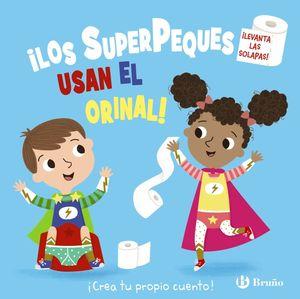 LOS SUPERPEQUES USAN EL ORINAL