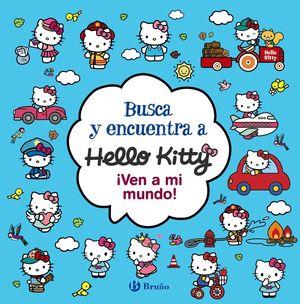 BUSCA Y ENCUENTRA A HELLO KITTY. ¡VEN A MI MUNDO!