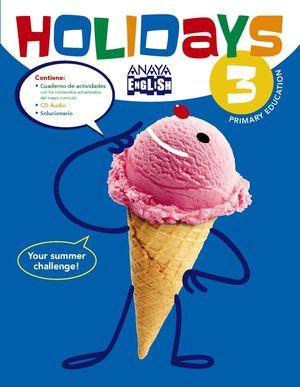 HOLIDAYS 3 PRIMARIA VACACIONES INGLES 2016
