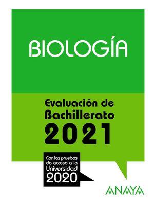 BIOLOGÍA. 2021 SELECTIVIDAD