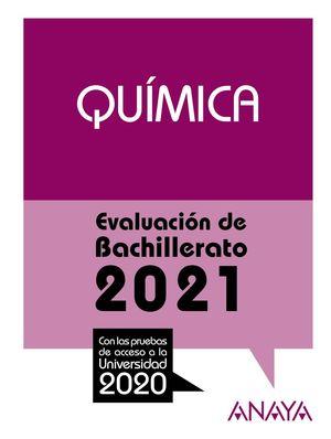 QUÍMICA 2021 SELECTIVIDAD