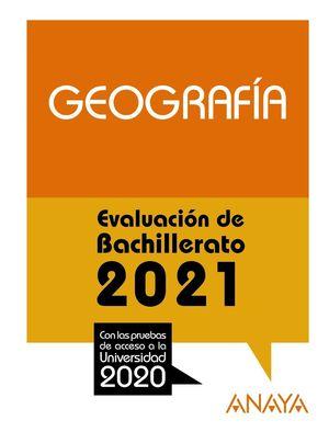 GEOGRAFÍA 2021 SELECTIVIDAD