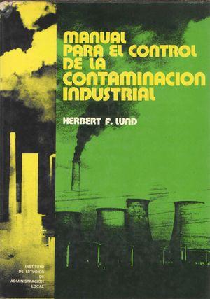 MANUAL PARA EL CONTROL DE LA CONTAMINACIÓN INDUSTRIAL