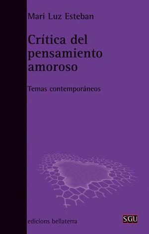 CRÍTICA DEL PENSAMIENTO AMOROSO