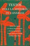 COMENTARIOS DE TEXTOS HISTÓRICOS DE CANARIAS