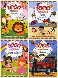 1000 PEGATINAS ( 4 TITULOS )