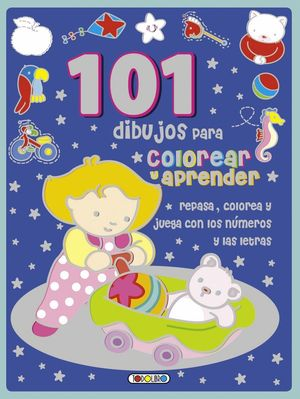 101 DIBUJOS PARA COLOREAR Y APRENDER ( ROJO )