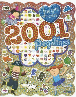 JUEGOS CON 2001 PEGATINAS ( ROJO )