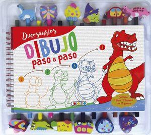 DINOSAURIOS. DIBUJO PASO A PASO