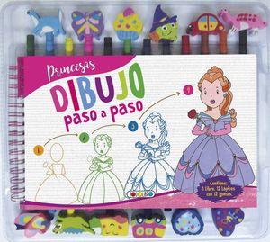 PRINCESAS. DIBUJO A PASO A PASO
