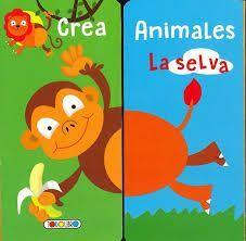 CREA ANIMALES DE LA SELVA