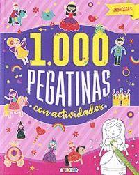 PRINCESAS ( 1000 PEGATINAS )