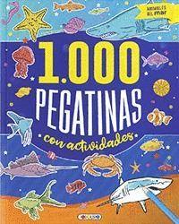 ANIMALES DEL MAR ( 1000 PEGATINAS )
