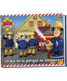 SAM EL BOMBERO. UN DÍA EN EL PARQUE DE BOMBEROS.