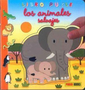 ANIMALES SALVAJES, LOS (LIBRO PUZLE)
