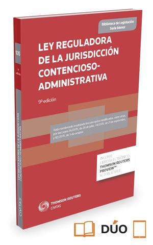LEY 29. REGULADORA DE LA JURISDICCIÓN CONTENCIOSO-ADMINISTRATIVA (PAPEL + E-BOOK)