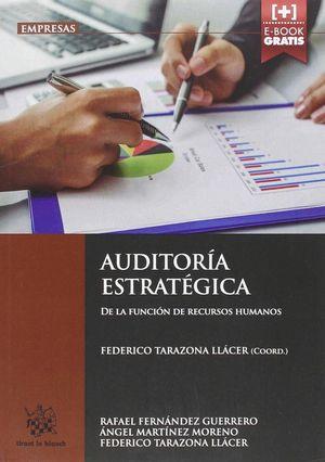 AUDITORÍA ESTRATÉGICA DE LA FUNCIÓN DE RECURSOS HUMANOS