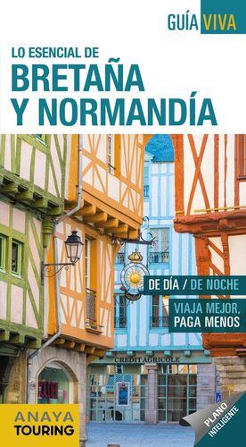 BRETAÑA Y NORMANDÍA 2019 GUIA VIVA