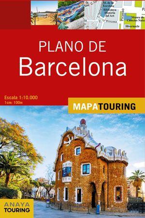 PLANO DE BARCELONA 2019 ANAYA TOURING