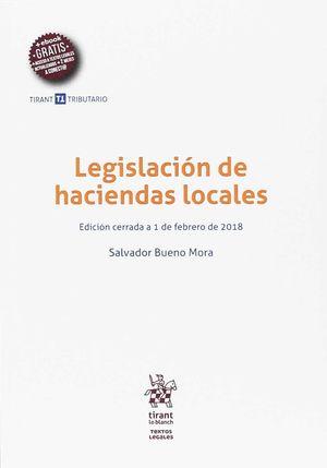 LEGISLACIÓN DE HACIENDAS LOCALES