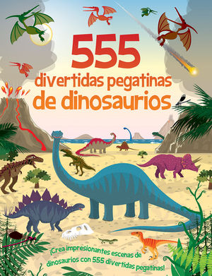 555 DIVERTIDAS PEGATINAS DE DINOSAURIOS