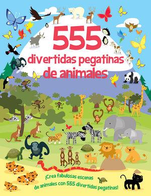 555 DIVERTIDAS PEGATINAS DE ANIMALES