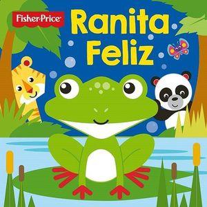 LIBRO BAÑO- RANITA FÉLIZ- FISHER PRICE