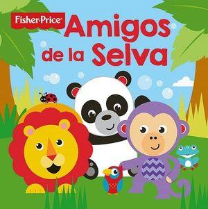 LIBRO BAÑO- AMIGOS DE LA SELVA- FISHER PRICE