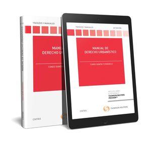 MANUAL DE DERECHO URBANÍSTICO (PAPEL + E-BOOK)