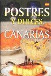 POSTRES Y DULCES DE CANARIAS