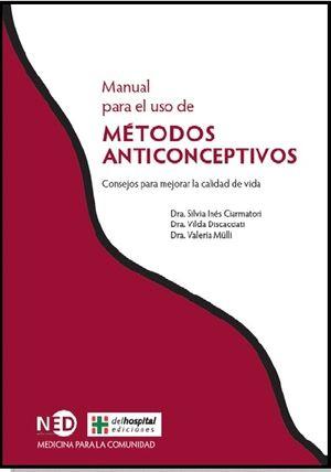 MANUAL PARA EL USO DE MÉTODOS ANTICONCEPTIVOS