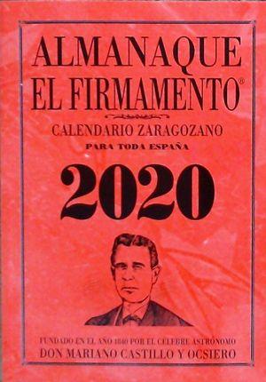 ALMANAQUE EL FIRMAMENTO 2020 ZARAGOZANO
