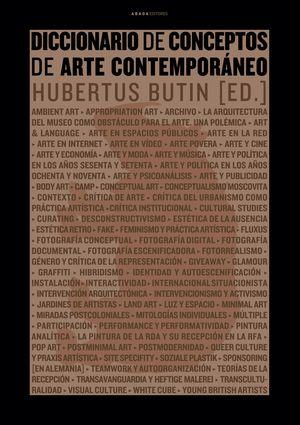 DICCIONARIO DE CONCEPTOS DE ARTE CONTEMPORÁNEO