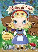 RICITOS DE ORO. LEE, VISTE Y JUEGA