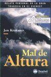 MAL DE ALTURA