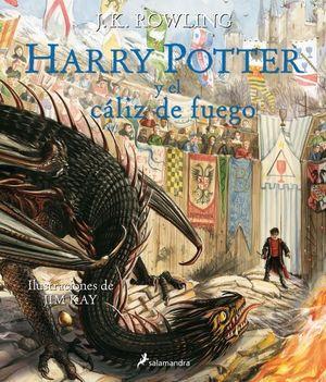HARRY POTTER Y EL CÁLIZ DE FUEGO (ILUSTRADO)
