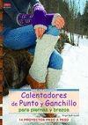CALENTADORES DE PUNTO Y GANCHILLO PARA PIERNAS Y BRAZOS
