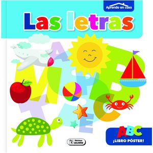 LIBRO POSTER- LAS LETRAS-