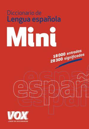 DIC.MINI LENGUA ESPAÑOLA VOX