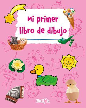MI PRIMER LIBRO DE DIBUJO (ROSA)