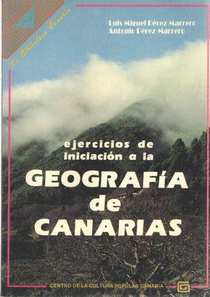 GEOGRAFIA DE CANARIAS, EJERCICIOS DE INICIACION