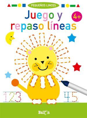 JUEGO Y REPASO LINEAS +4