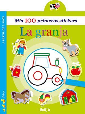 LA GRANJA - MIS 100 PRIMEROS STICKERS