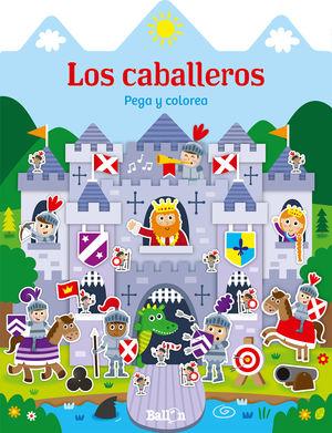 CASITAS - LOS CABALLEROS PEGA Y COLOREA