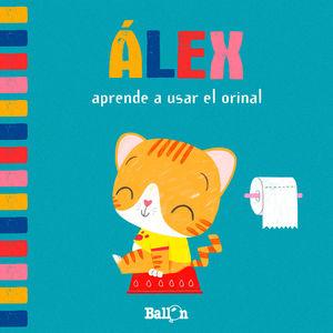 ÁLEX APRENDE A USAR EL ORINAL