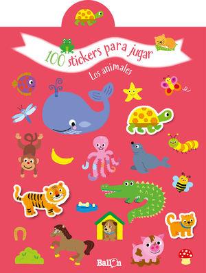 100 STICKERS PARA JUGAR - LOS ANIMALES