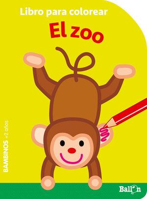 COLOREAR BAMBINOS - EL ZOO