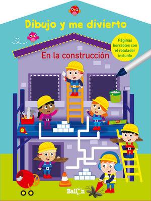 DIBUJO Y ME DIVIERTO EN LA CONSTRUCCIÓN